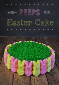 PEEPS Easter Cake - Mommy's Fabulous Finds