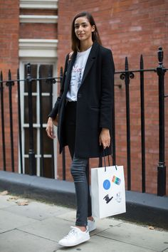 London Fashion Week SS17 Models Off Duty
