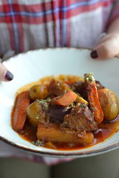 Voici la deuxième recette parue dans le Vif Weekend vendredi dernier. Un de mes plats préférés. J'avais l'habitude de préparer mo...