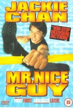 Mr. Nice Guy (1997) Best Martial Arts, Martial Arts Movies, Mr Nice Guy, A Good Man, Jackie Chan Movies, Dv A, The Tenses, Star Wars, Public Display