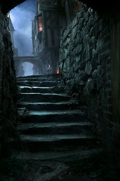 ideas for dark fantasy landscape rpg