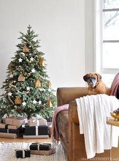 An earthy Christmas tree