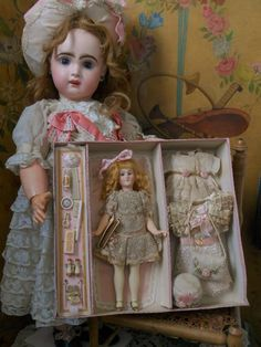 ~~~Rare German Bisque Flapper in Presentation for French Market ~~~ from whendreamscometrue on Ruby Lane