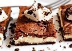 brownies s tvarohem