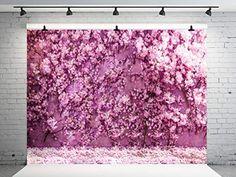 Wall Backdrops, Photo Backdrops, Wedding Background, Cherry Blossom, Wedding Photography, Amazon, Flowers, Pink, Home Decor
