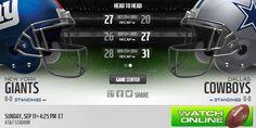 Giants vs Cowboys Live Stream, Game preview, odds, prediction http://cowboysvsgiantslivestream.com/