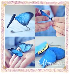 Great tutorial to make a butterfly