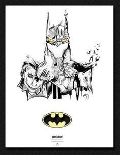 Batman, by  Mactivo