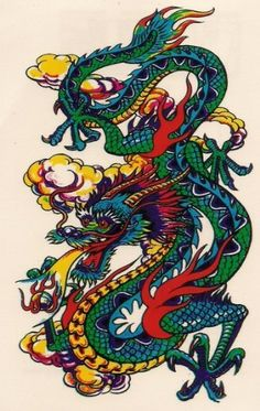 Colourful Dragon2 Temporary Tattoos by Temporary Tattoos. $5.99. Easy to apply, easy to remove You can use different designs to go with any occasion or outfit. They do not leave any permanent marks like the real thing, so you have the option to change looks regularly! They are completely safe. Try some on and see what happens... you never know!!  How to apply:  1.Cut out tattoo of choice and remove clear sheet.  2. Place tattoo face down on skin  3. Wet the tattoo ...