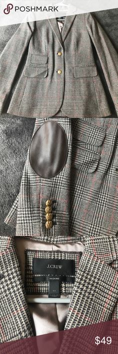 NWOT Jcrew Blazer size 00 Never worn, tags removed when bought. Perfect addition for fall wardrobe! J. Crew Jackets & Coats Blazers