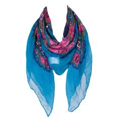 Light Delicate Voile Pink Floral Scarf Women Voile Square Lady Bufandas Mujer Snood Foulard Size110cm*110cm No.03013