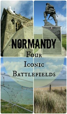 Normandy: Four Iconic Battlefields - Postcards & Passports Normandy Beach, Normandy France, Provence France, Beaches Of Normandy, Normandy Ww2, D Day Normandy, Road Trip France, France Travel, Travel Europe