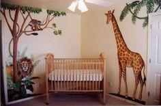 Baby Nursery With African Safari Decor Ideas