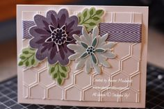 stampwithamber - Amber Meulenbelt, independant Stampin' Up! demonstrator: Thinking Ahead to Spring: Flower Patch