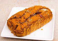 Easy Vegan Pumpkin Bread! GF, Oil Free, Refined Sugar Free, Vegan. Vegan Pumpkin Bread, Afternoon Snacks, Sugar Free, Banana Bread, Lunch, Healthy Recipes, Oil, Breakfast, Sweet