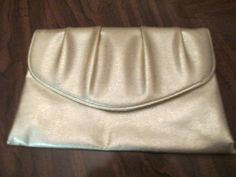 Vintage 1970's Gold Clutch Purse by LMTDInteriorConsults on Etsy