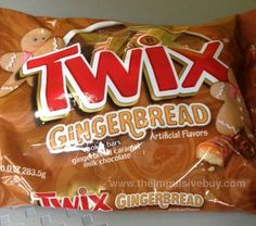 SPOTTED ON SHELVES - Gingerbread M&M's and Gingerbread Twix