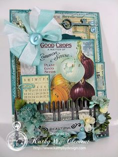 Kathy by Design for Crafty Secrets using image from Digital Garden Scraps Download
