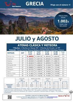 GRECIA Atenas Clásica y Meteora salidas en Julio y Agosto. Precio final desde 1.002€ - http://zocotours.com/grecia-atenas-clasica-y-meteora-salidas-en-julio-y-agosto-precio-final-desde-1-002e-3/