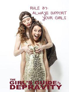 Rebecca Blumhagen In The Girls Guide To Depravity Girl Guides Seasons Poster