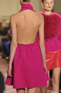 Thakoon, backless pink