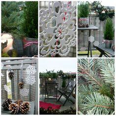 Świąteczna dekoracja balkonu http://homebywolff.blogspot.com/