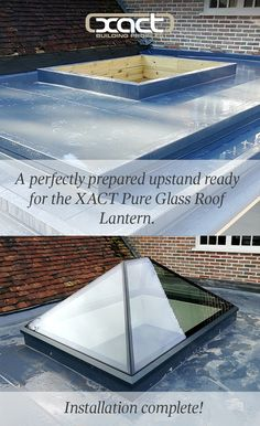 XACT Pure Glass Roof Lantern (2086 x 1686mm), Schuco Corner Bifold Doors (5000 x 2100mm) and a Fixed Pane (800 x 2100mm) supplied and installed on a Grade II listed building in Cheriton, Alresford. The roof lantern includes internal ringbeam LED lighting which comes with a dimmable transformer. The rooflight's glass has an Active Neutral coating for solar protection. It is also self-cleaning for easier maintenance. Email sales@xactbp.co.uk or call 01428 748255 with your roof glazing…