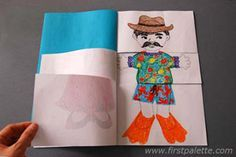 Flip-book.  Pretty sure I would enjoy making this as much as my kids!