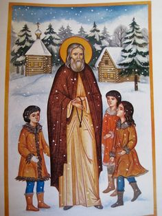Full of Grace and Truth: St. Herman of Alaska, the Venerable Wonderworker, and First Saint of America Russian Icons, Russian Art, Lives Of The Saints, Christian Friends, Orthodox Christianity, My Church, Catholic Saints, Orthodox Icons, Religious Art