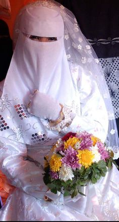 beautiful Niqab Bride