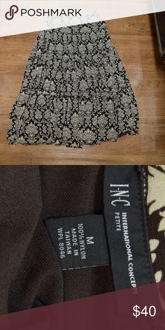 INC International Concept Petite Skirt The skirt is in great condition. INC International Concepts Skirts