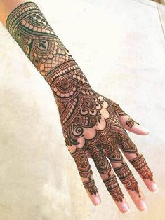 50 Most beautiful Ahmedabad Mehndi Design (Ahmedabad Henna Design) that you can apply on your Beautiful Hands and Body in daily life. Wedding Henna Designs, Indian Henna Designs, Back Hand Mehndi Designs, Latest Bridal Mehndi Designs, Mehndi Designs Book, Mehndi Designs For Beginners, Mehndi Designs For Girls, Dulhan Mehndi Designs, Mehndi Design Images
