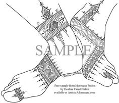 Simple Henna Patterns Henna Tattoo Indian Arabic Design Pictures Pics Images - Tattoo Artists
