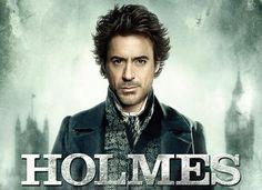 Sherlock Holmes poster with Robert Downey, Jr.