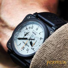"""BELL&ROSS RAFALE  Tasarımda son nokta.  Ürün Kodu: BR03  www.permun.com  %100 Güvenli Online Satış Mağazamız: www.markasaatler.com/bell-ross-c479.html  """"Orjinal Ürün / Aynı Gün Kargo""""  Tel: 0 (224) 241 31 31  #Bellandross #watchporn #watch #watches #watchturkey #horology #hediye #fashionable #luxurylife #watchoftheday #watchescollection #saat #bursa #aniyakala"""