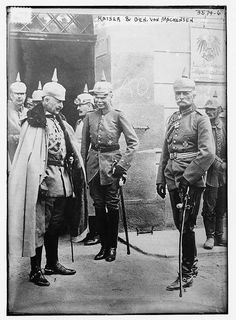 Kaiser and Gen. von Mackensen  (LOC) by The Library of Congress, via Flickr