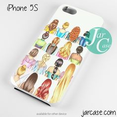 Disney Princess in Painting Phone case for iPhone 4/4s/5/5c/5s/6/6 plus