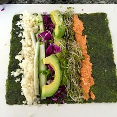 no-rice veggie sushi roll recipe, compliments of rachel brathen a.k.a yoga_girl
