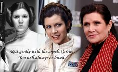 God bless you Carrie Fisher who passed away today. Sending lots of love to her family and friends. Be Blessed, Cherokee Billie Spiritual Advisor