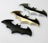 Wish | Batman 3D Chrome Metal Auto Car Motorcycle Logo Sticker Badge Emblem Tail Decals