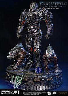 Lockdown Statue by Prime 1 Studio
