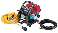 Dramm MSO-Gas2 Gasoline Power Sprayer with 66 Feet Discharge Hose, Trigger-Style Gun & Suction Hose by Dramm. $795.00. 3 different regulator settings. 4-cycle Honda gasoline engine. Non-CARB Compliant/Not For Sale In California. Applies most chemical formulations. Gasoline power hydraulic sprayer. From the Manufacturer                The Dramm MSO Gasoline Power Sprayer is a multi-purpose chemical applicator that can easily apply all formulations of pesticides, fungicides,...