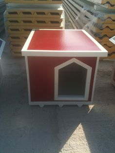 A Burgundy red one! Dog Houses, Burgundy, Canning, Red, Home, Ad Home, Dog Kennels, Homes, Wine Red Hair