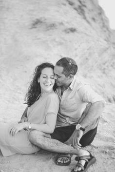 Black and White, Bridal Couples Shoot, Romantic, Fine Art, Detailed Shot, Bridal Boho Chic Beach Engagement Session, Tel Aviv. Lauren Newman Photography. Destination Wedding Photographer
