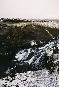 Glymur Foss, Iceland by Hannah Hethmon