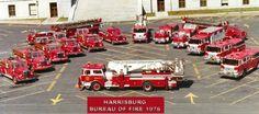 Harrisburg Bureau Of Fire, 1976