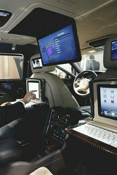 Interior Bentley suv