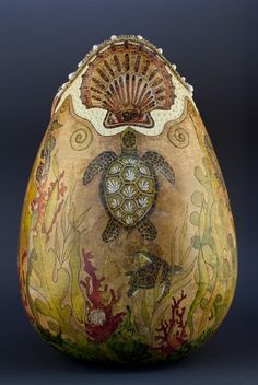 Welburn Gourd Farm | below is some of the incredible gourd art created by gourd artists who ...