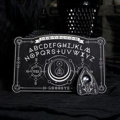 Mini Ancient Alchemy Spirit Board  Ouija Board by EnchantedRumors