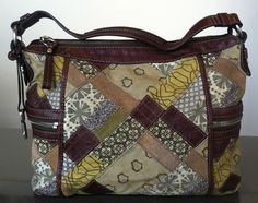 """Fossil """"long Live Vintage"""" Patchwork Large Multi Tote Bag. Get one of the hottest styles of the season! The Fossil """"long Live Vintage"""" Patchwork Large Multi Tote Bag is a top 10 member favorite on Tradesy. Save on yours before they're sold out!"""